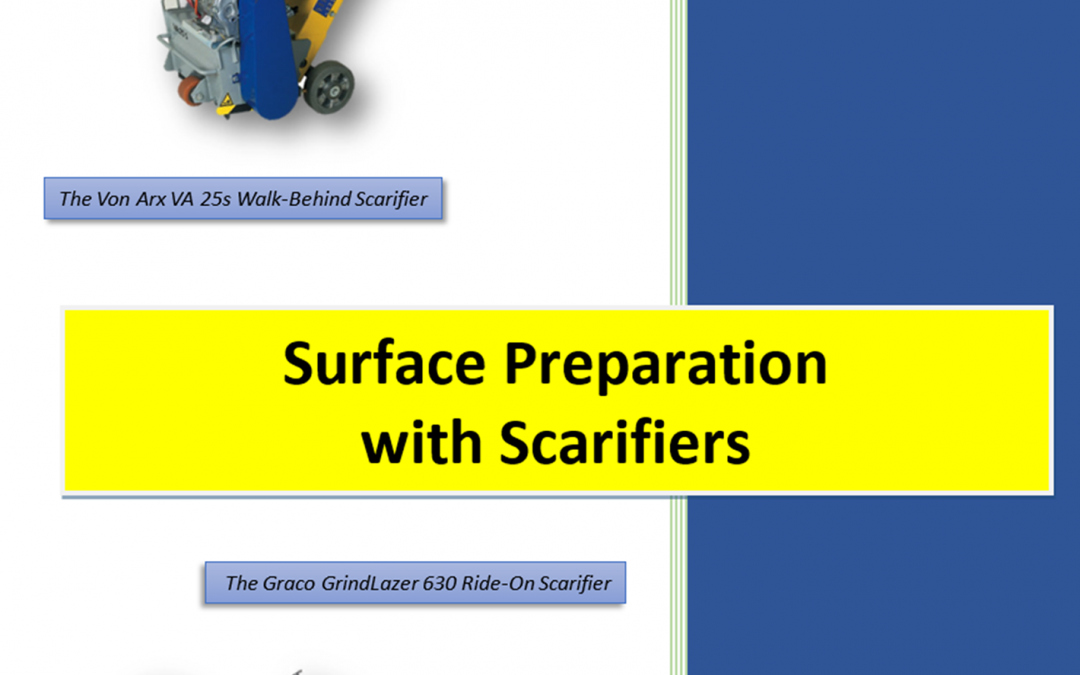 Qualification Course: Surface Preparation with Scarifiers