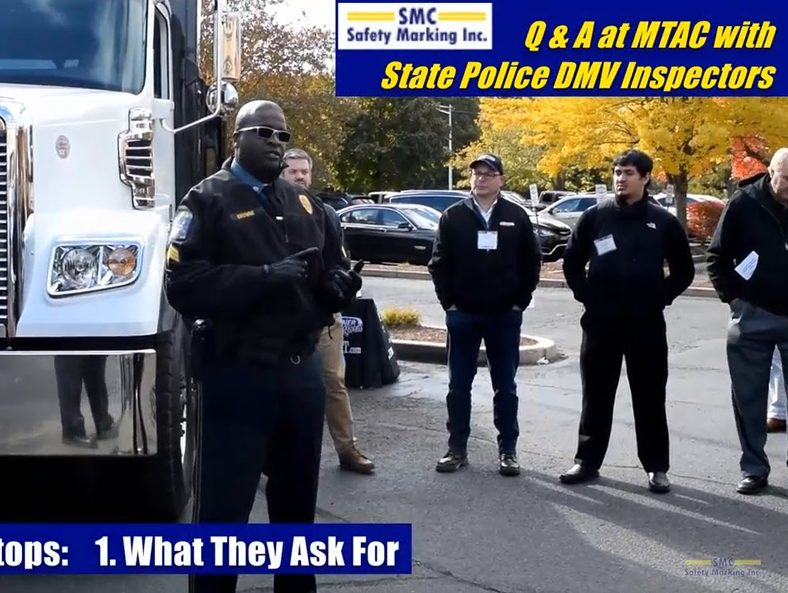 Video Learning: CT State Police on Commercial Truck Inspections