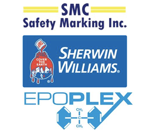 Safety Marking Inc. Is Excited To Announce Their Partnerships Of Thirty Years With Sherwin-williams® And Epoplex.